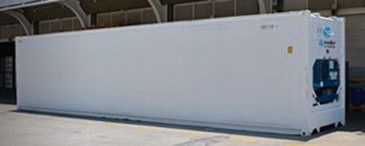 Uso de contenedores refrigerados como cámaras frigoríficas
